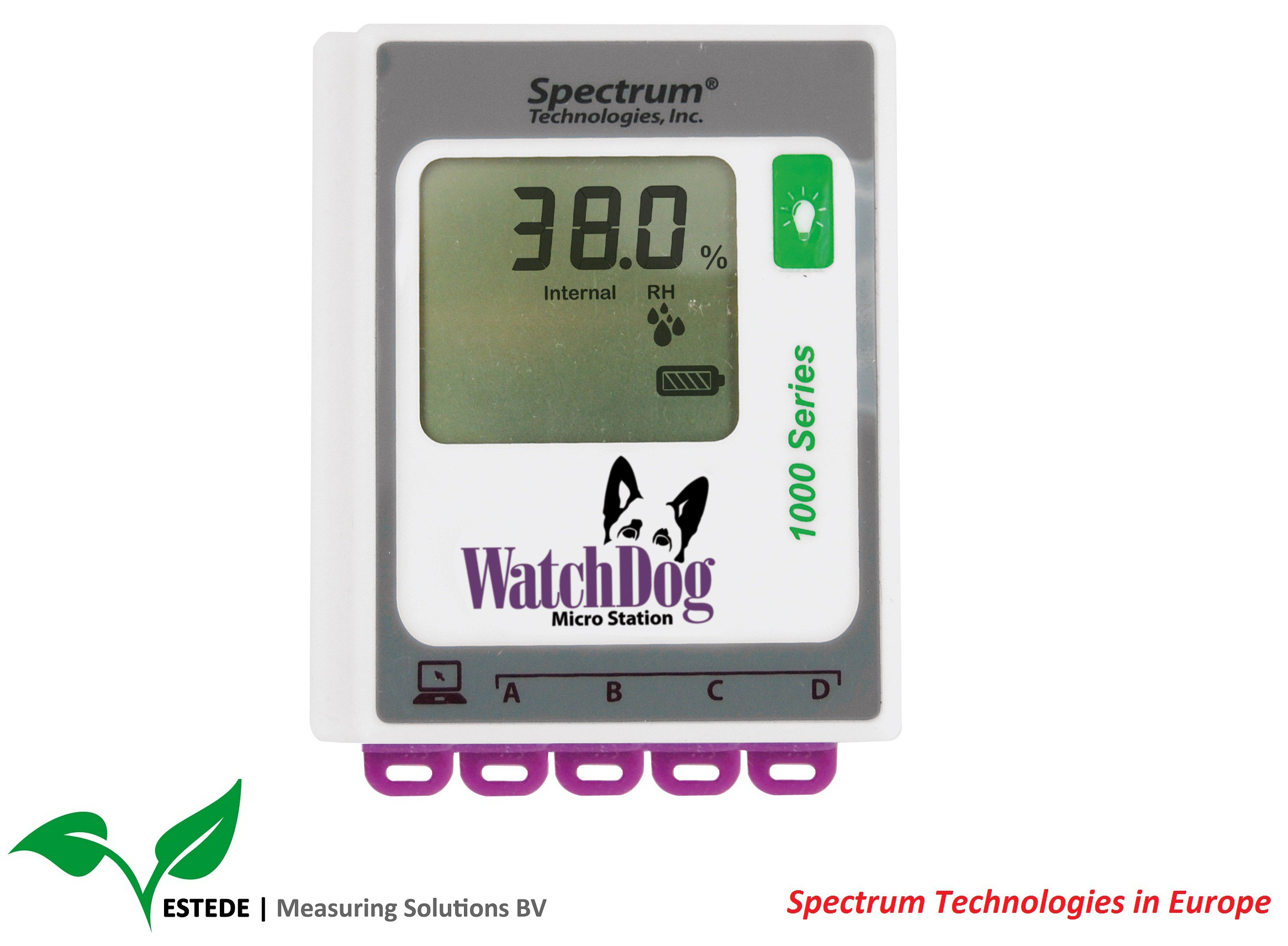 Micro weerstation: WatchDog Model 1525